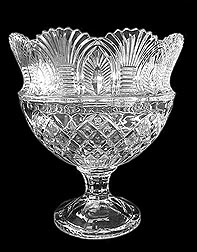 Footed crystal Bowl