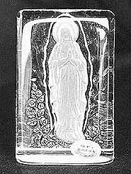 Crystal Virgin Mary (Image)